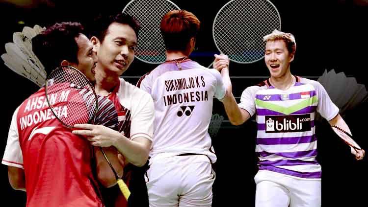 China Open: Kevin/Marcus Juara Usai Tekuk Ahsan/Hendra
