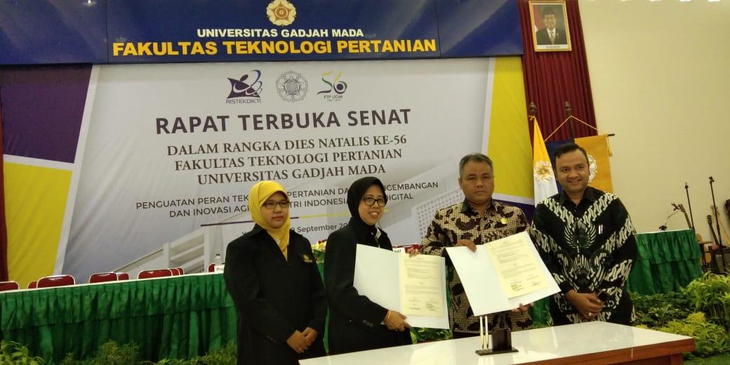 Fakultas Sain dan Teknologi Universitas Muhadi Setiabudi (UMUS) Brebes Menjalin Kerjasama dengan Fakultas Teknologi Pertanian (FTP) UGM