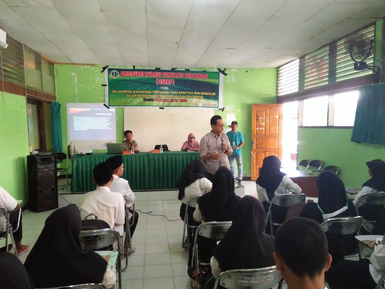 Fakultas Pertanian Unisa Gelar Orientasi Studi Taaruf Fakultas (OSTAF)