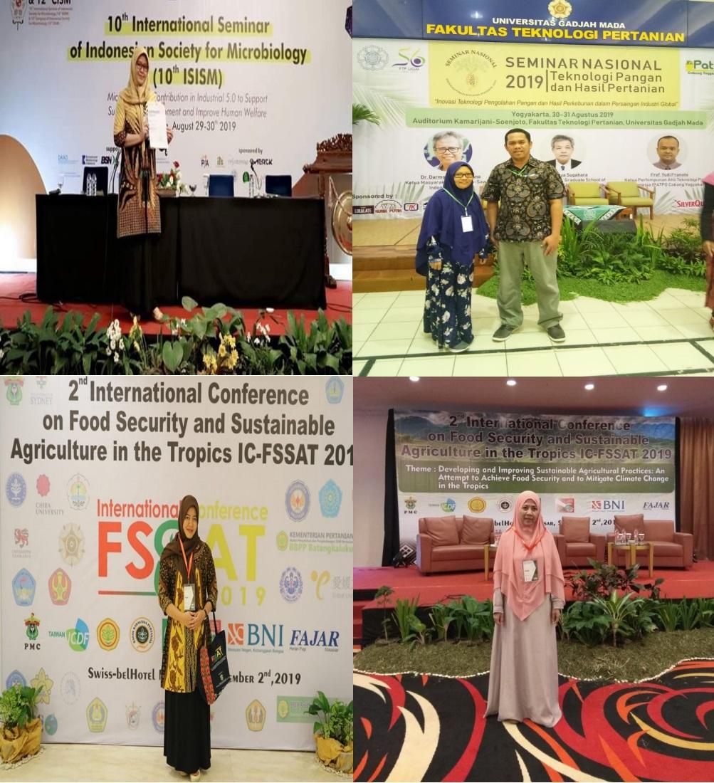 Dosen Pertanian Unisa Palu Paparkan Artikel Ilmiahnya di Forum Internasional