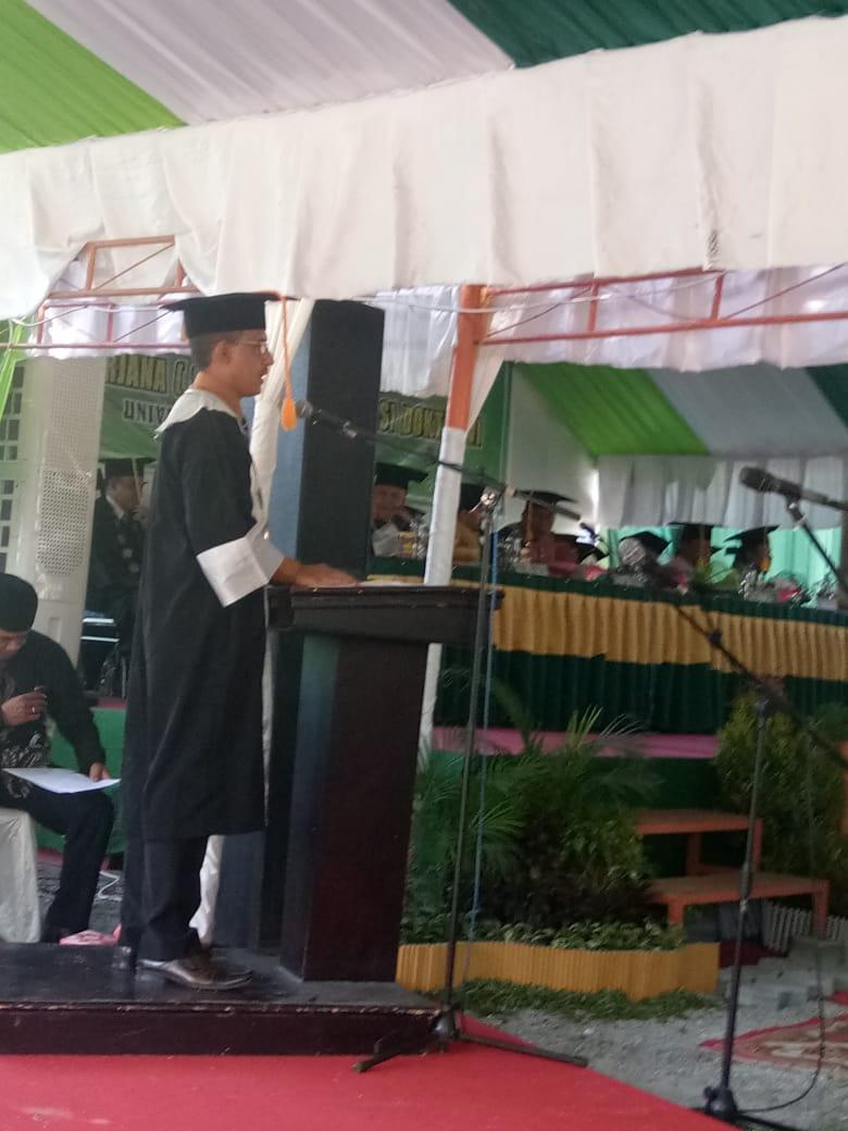 Pesan Almamater Rektor; Prioritaskan Pembenahan Organisasi, Akademik, Kemahasiswaan dan Jejaring
