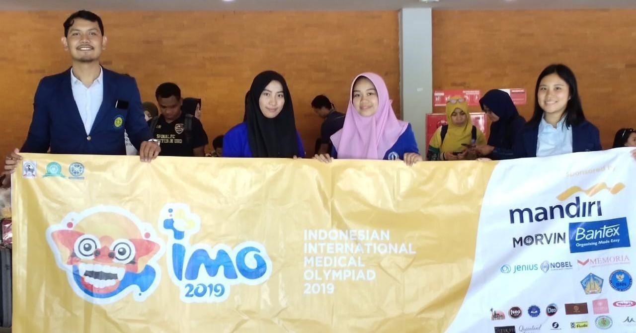 Mahasiswa Kedokteran Unisa Peserta  Indonesian International Medical Olympiad