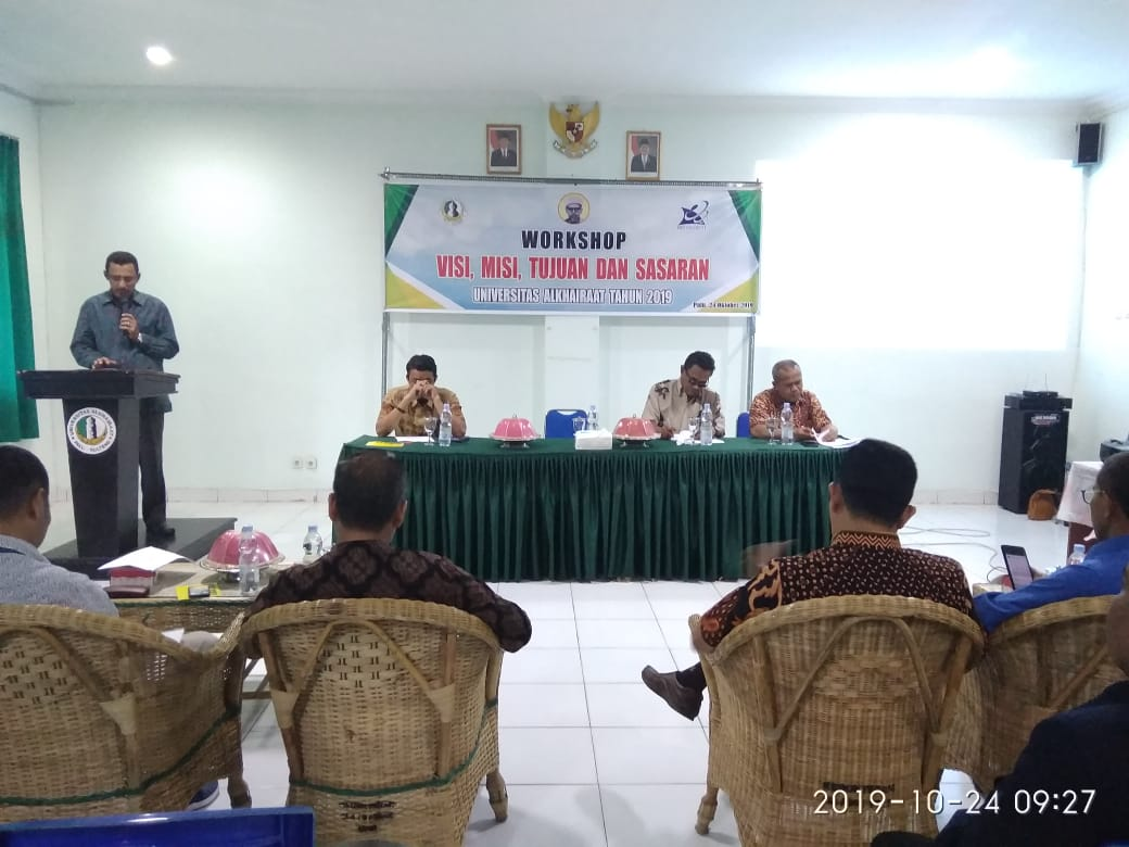 Unisa Laksanakan Workshop Visi Misi Universitas