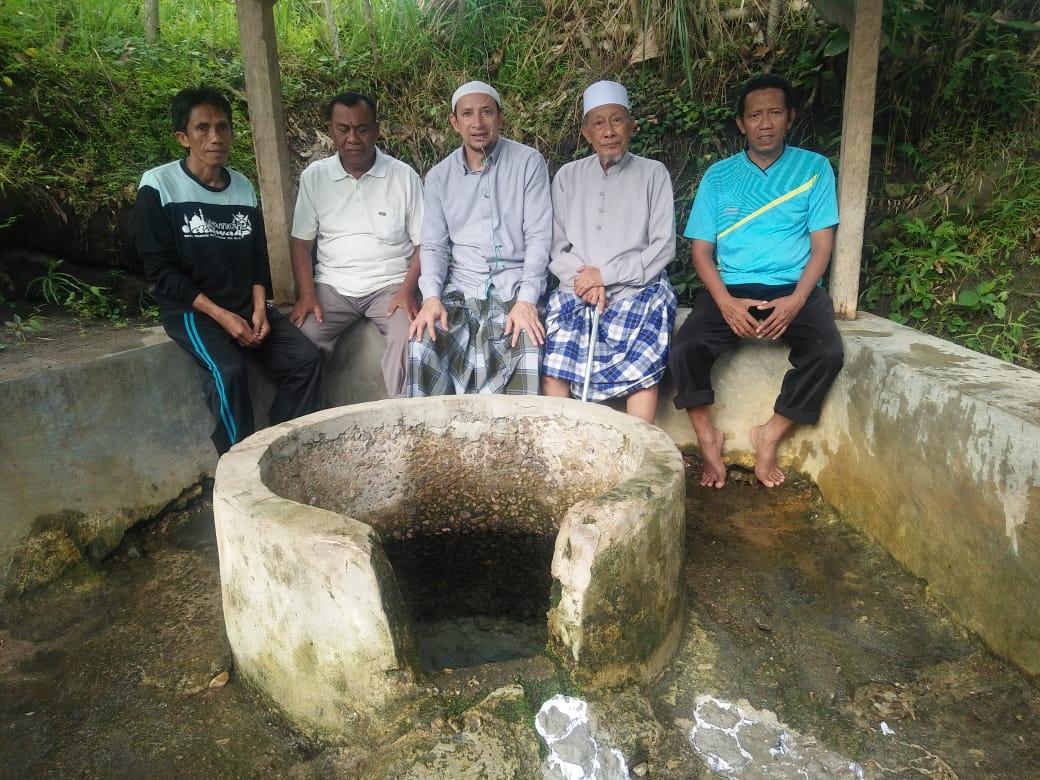 Sumur Tempat Mandi Guru Tua di Pelawa tidak Pernah Kering