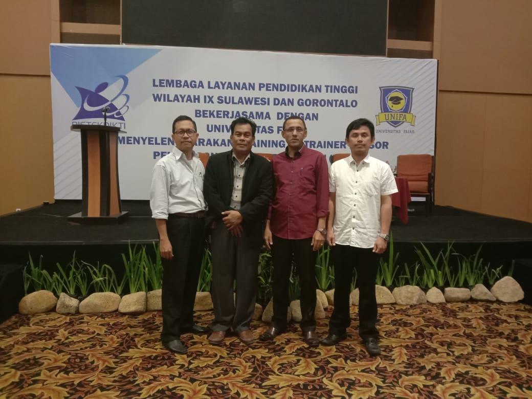 Empat Dosen Unisa Hadiri TOT BKD di Makassar