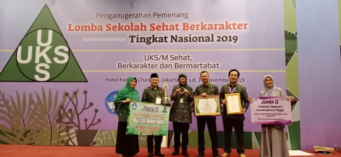 Finalis Sekolah Sehat, MIN 1 Kota Palu Harumkan Nama Sulawesi Tengah