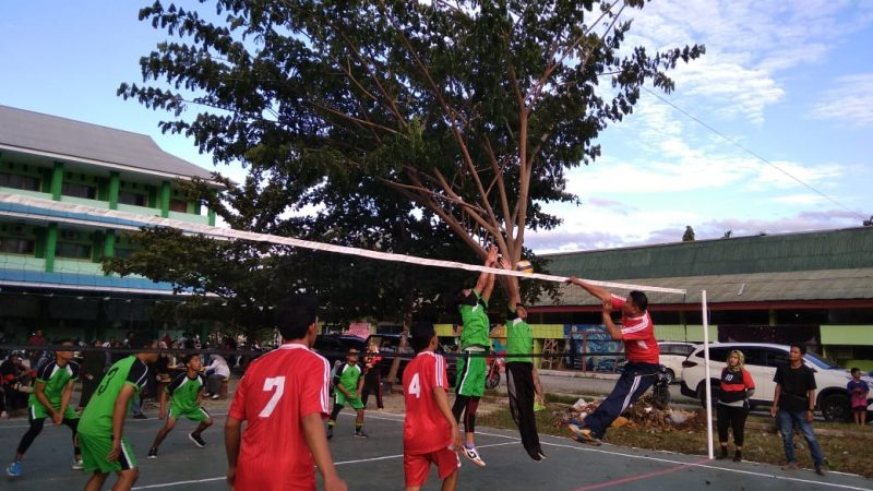 Volley Ball Pertanian Tumbangkan Ekonomi