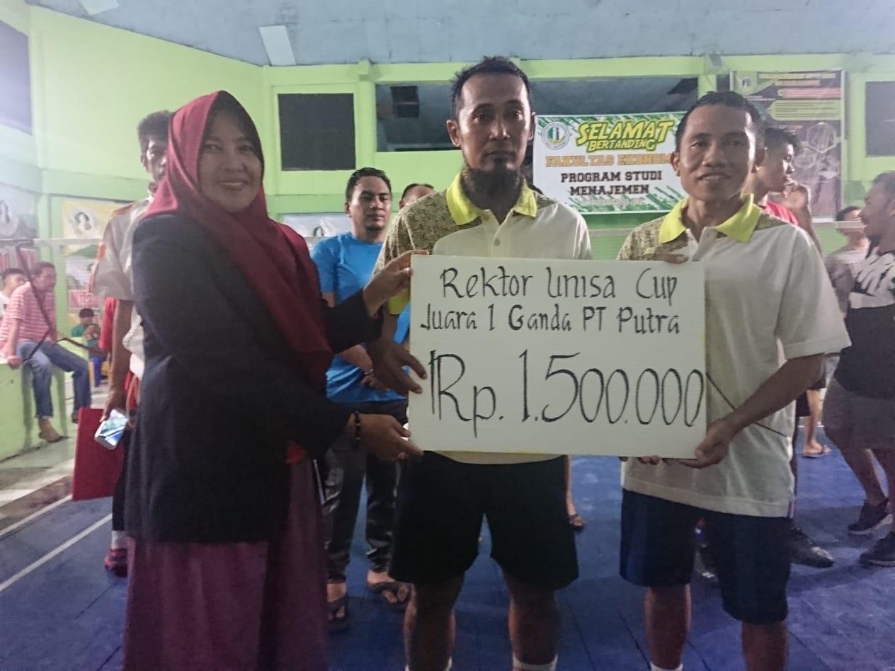 Setiawan/Idris Juara Bulutangkis antar Perguruan Tinggi