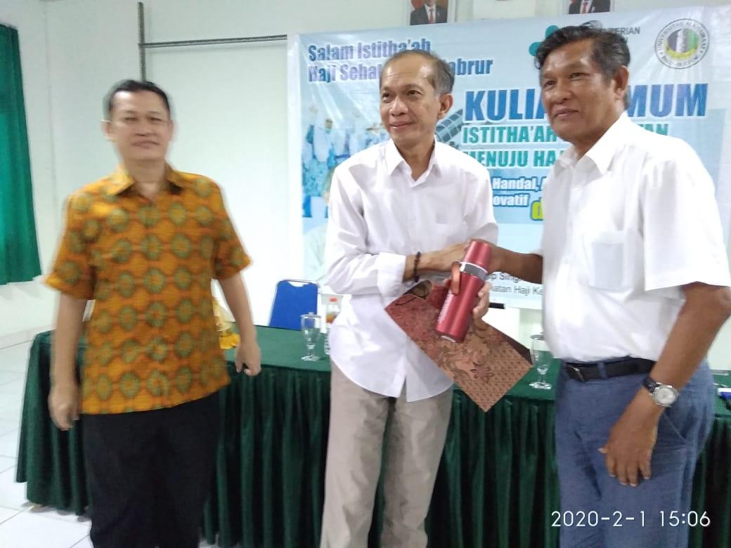 Pusat Haji Indonesia Puji Fakultas Kedokteran Unisa