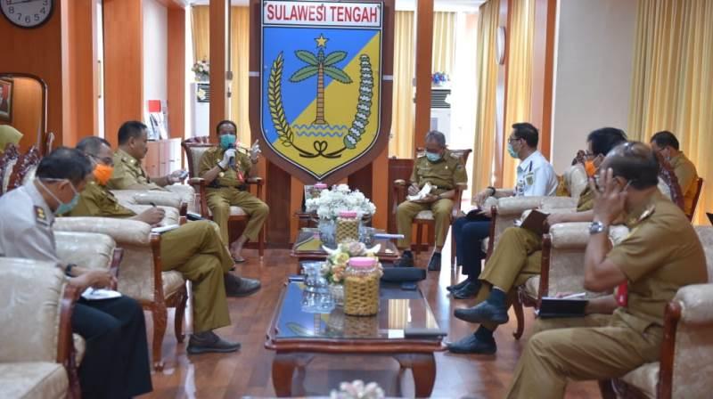 Gubernur Sulteng Perintahkan Tutup Perbatasan antar Provinsi