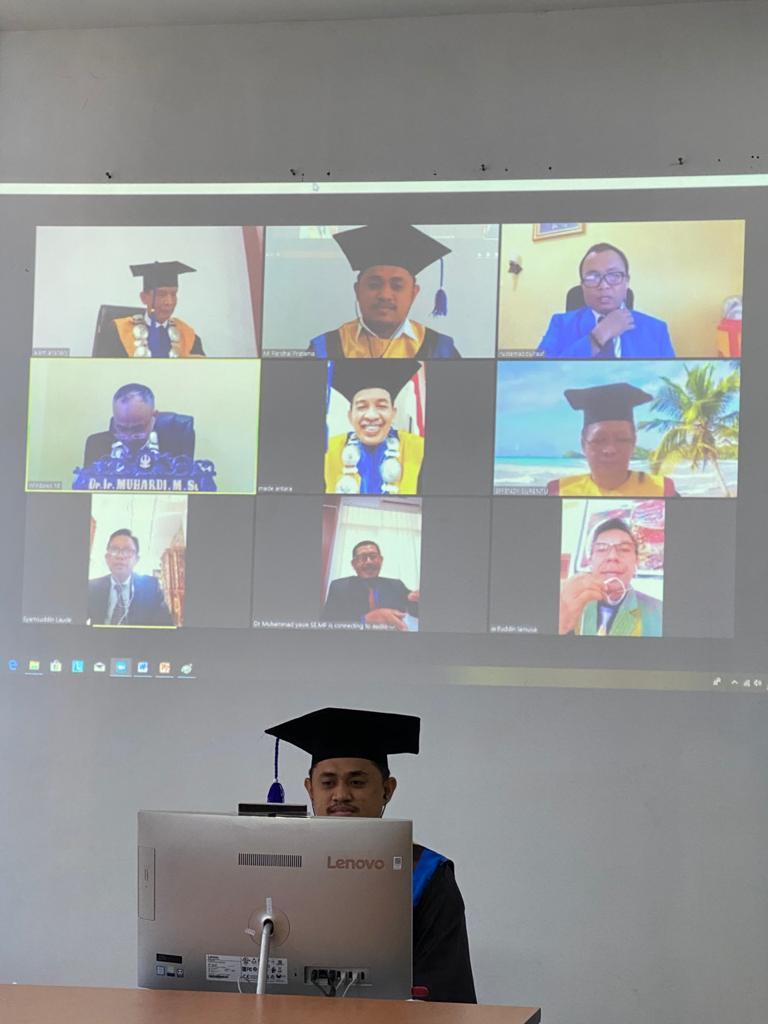 Dosen Unisa Penguji Eksternal Promosi Doktor Putera Mantan Rektor Untad