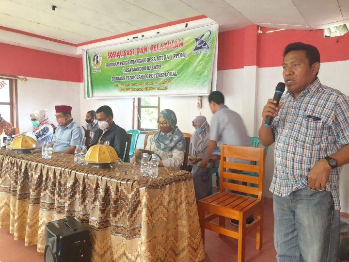 Wakil Bupati  Donggala Hadiri Sosialisasi PPDM dan PKM Unisa di Kaliburu