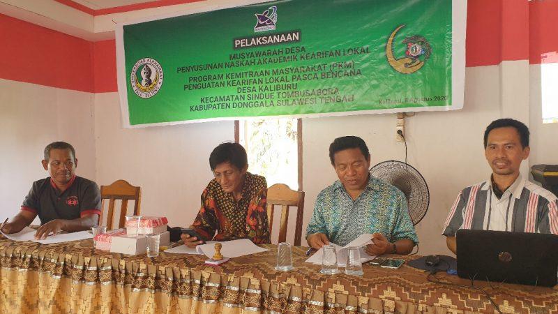 Dosen Universitas Alkhairaat Dorong Ranperdes Penguatan Kearifan Lokal