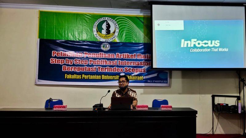 Nur Edy Berbagi Ilmu di Universitas Alkhairaat, Ingatkan Waspadai Jurnal Predator