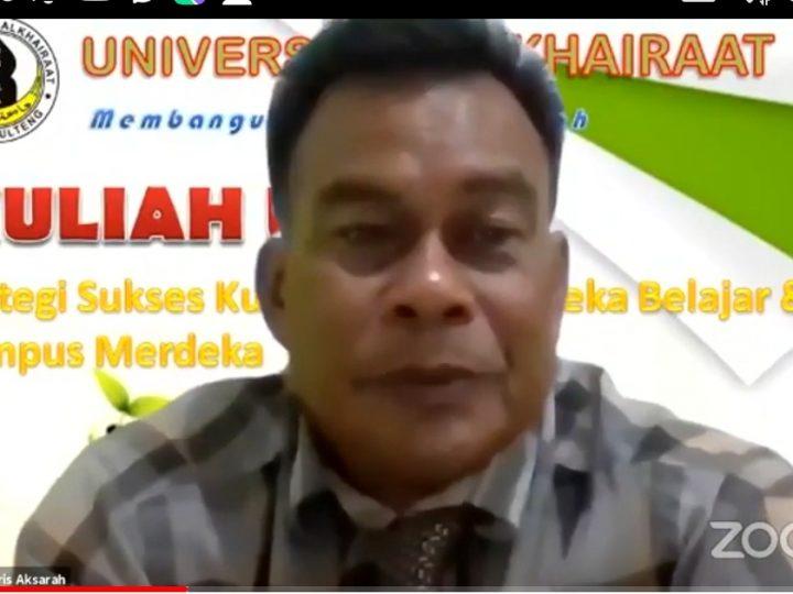 Dr. Aris Aksarah, Kuliah Daring Ajarkan Kejujuran dan Keseriusan