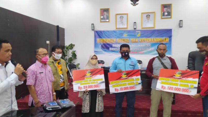 Napiter Palu dan Poso Dapat Bantuan Usaha Kemandirian Dari Dinas Sosial Provinsi