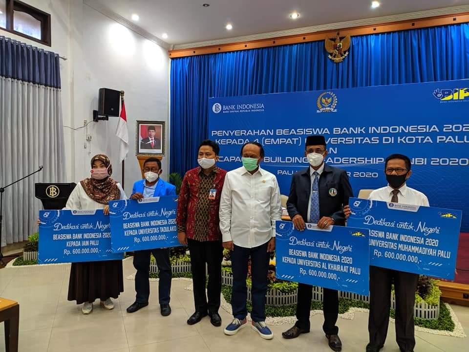 Alhamdulillah, Universitas Alkhairaat Kembali Terima Beasiswa Bank Indonesia