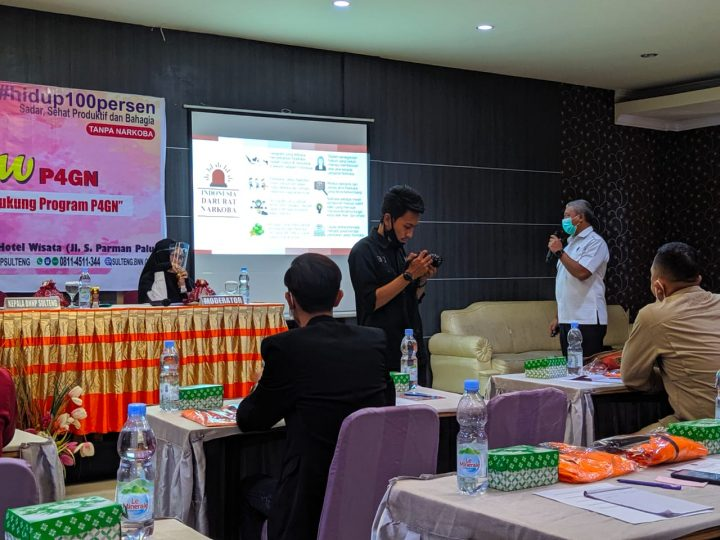 Libatkan Penyiar dan Selebgram BNN Provinsi Masifkan Sosialisasi P4GN