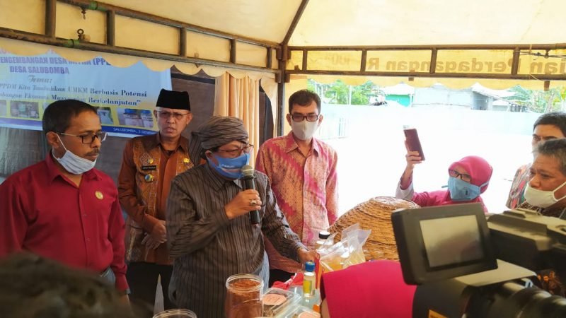 Bupati Donggala Support Program Pengembangan Desa Mitra di Salubomba