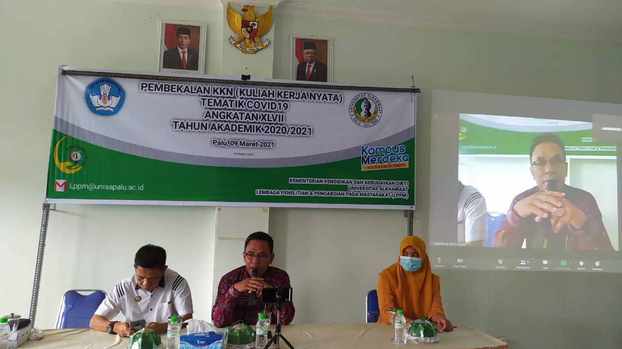 KKN Tematik Covid-19; Unisa Tempatkan Mahasiswanya di Kinovaro