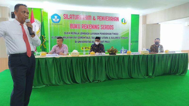 Berkunjung ke Palu, Koordinator Kelembagaan LLDIKTI XVI Serap Aspirasi PTS