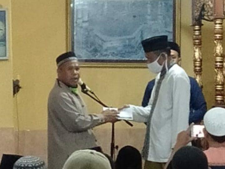 Ramadhan, BAZNAS Kota Palu Silaturrahim ke Ta'mir dan Jamaah Masjid