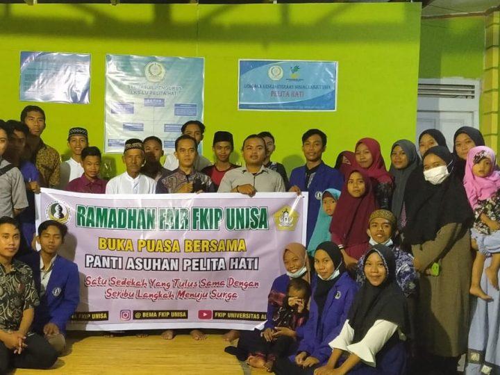 Patut Dicontoh, Selama Ramadhan Mahasiswa FKIP Unisa Lakukan Ini