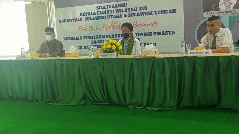 UNISA Tuan Rumah Silaturrahim Kepala LLDIKTI Wilayah XVI di Palu
