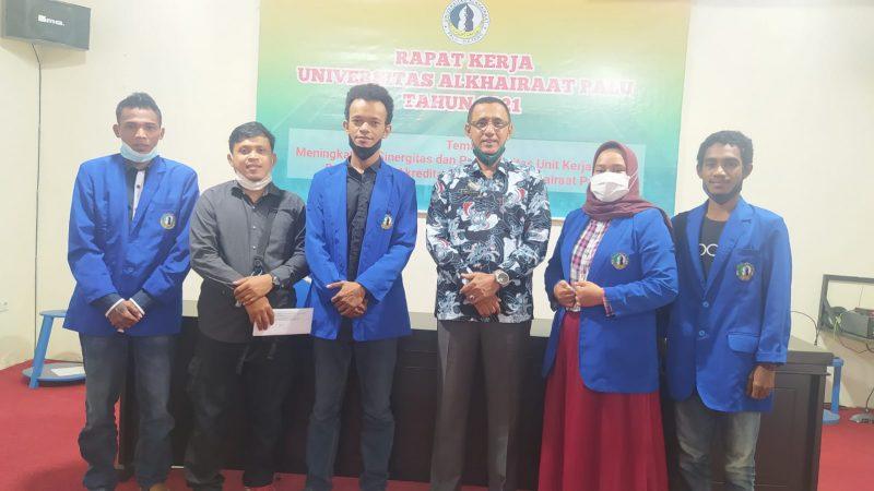 Rektor Unisa Dr. Umar Alatas Terima Presiden dan Wakil Presiden Terpilih